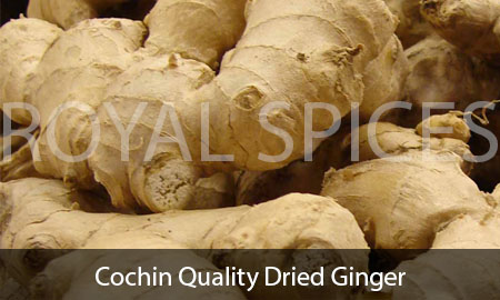 Cochin Quality Dried Ginger